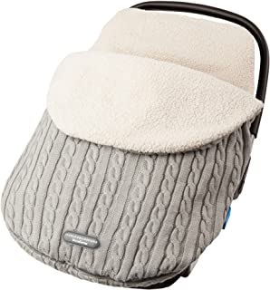 Newborn Cover Mat Knit Fleece Lined FlurriesBaby Stroller Sleeping Bag Swaddle 0-12 Months Infant Nap Blanket Wrap Footmuff Car Seat Carriage Sack Boy Girl Winter Cold Weather Outdoor
