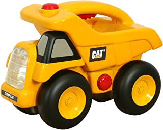 Toy State Caterpillar Construction Flash Light And Night Light: Dump Truck