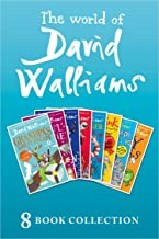 The World of David Walliams: 8 Book Collection (The Boy in the Dress, Mr Stink, Billionaire Boy, Gangsta Granny, Ratburger...