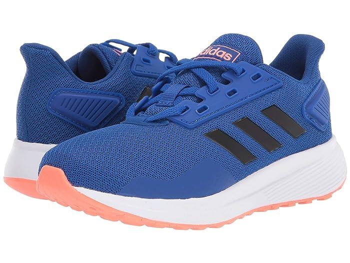 adidas Kids  Duramo 9 (Little Kid/Big Kid) (Team Royal Blue/Black/Signal Coral) Boys Shoes