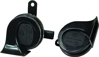 HELLA 011225841 Black 12V BX Trumpet Horn Kit (Audi)