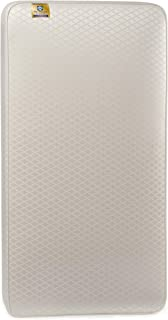 Sealy Baby Posturepedic Crown Jewel Luxury Firm Toddler & Baby Crib Mattress - 220 PostureTech Coils, Hospital-Grade Breathable Waterproof & Stain-Resistant Cover, Gold Jacquard Leaf, 51.7