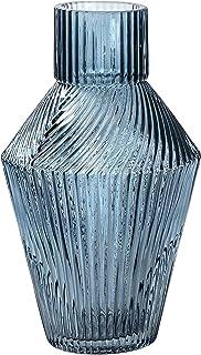 Frank Hudson Cruz Vase, Blue, Small, 120 x 120 x 200mm