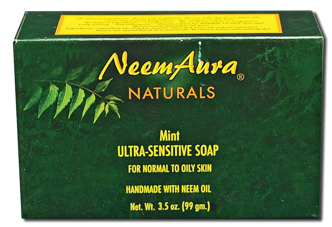 Neem Soap Mint Neem Aura 3.30 oz. Soap