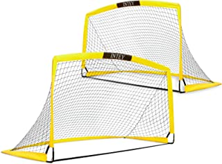 INTEY Soccer Goal Set of 2 and Size 6'x4'Portable Soccer...