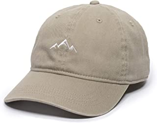 Mountain Dad Hat - Unstructured Soft Cotton Cap