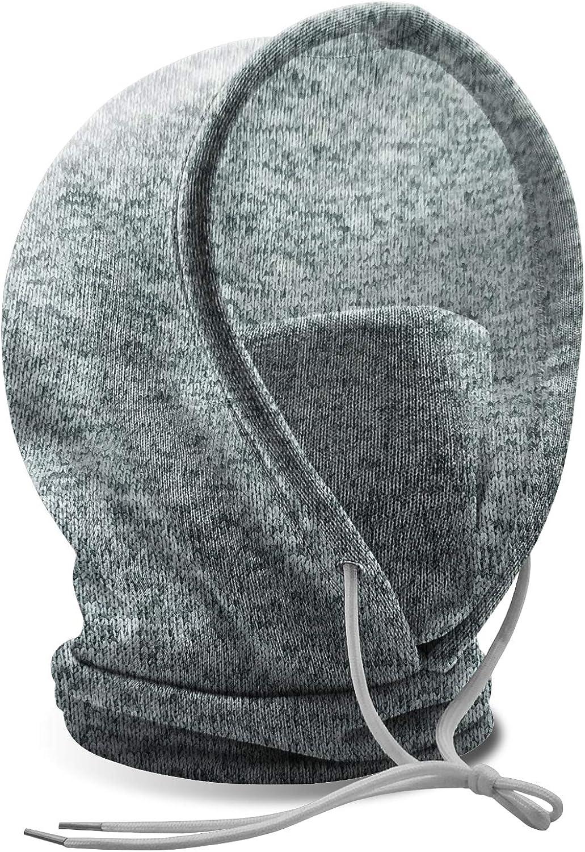 Winter Beanie Knit Hats, Adjustable Ski Hat Warm Ski Face Mask for Women Men