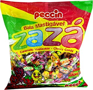 Zaza Assorted Flavors & Colors Fruit Chewy Candy (Large)