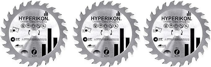 Hyperikon 4 1/2 Inch Blade Set, 12,000 RPM, 4.5 Circular Saw Blade