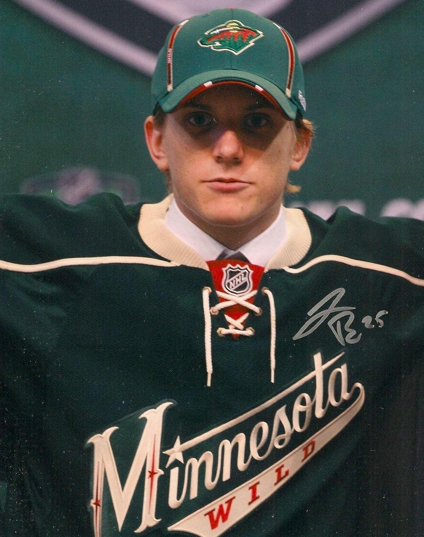 Jonas Brodin Autographed Photo  8X10 w COA  Autographed NHL Photos