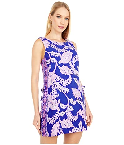 Lilly Pulitzer Donna Romper (Galaxy Blue What The Shell Engineered) Women