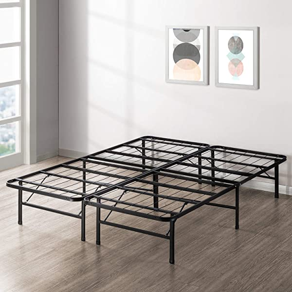 Best Price Mattress New Innovated Box Spring Metal Bed Frame Full Renewed