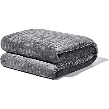 Gravity Blanket: Weighted Blanket, la coperta ponderata per il sonno, grigio, 121cm x 182cm, 11kg