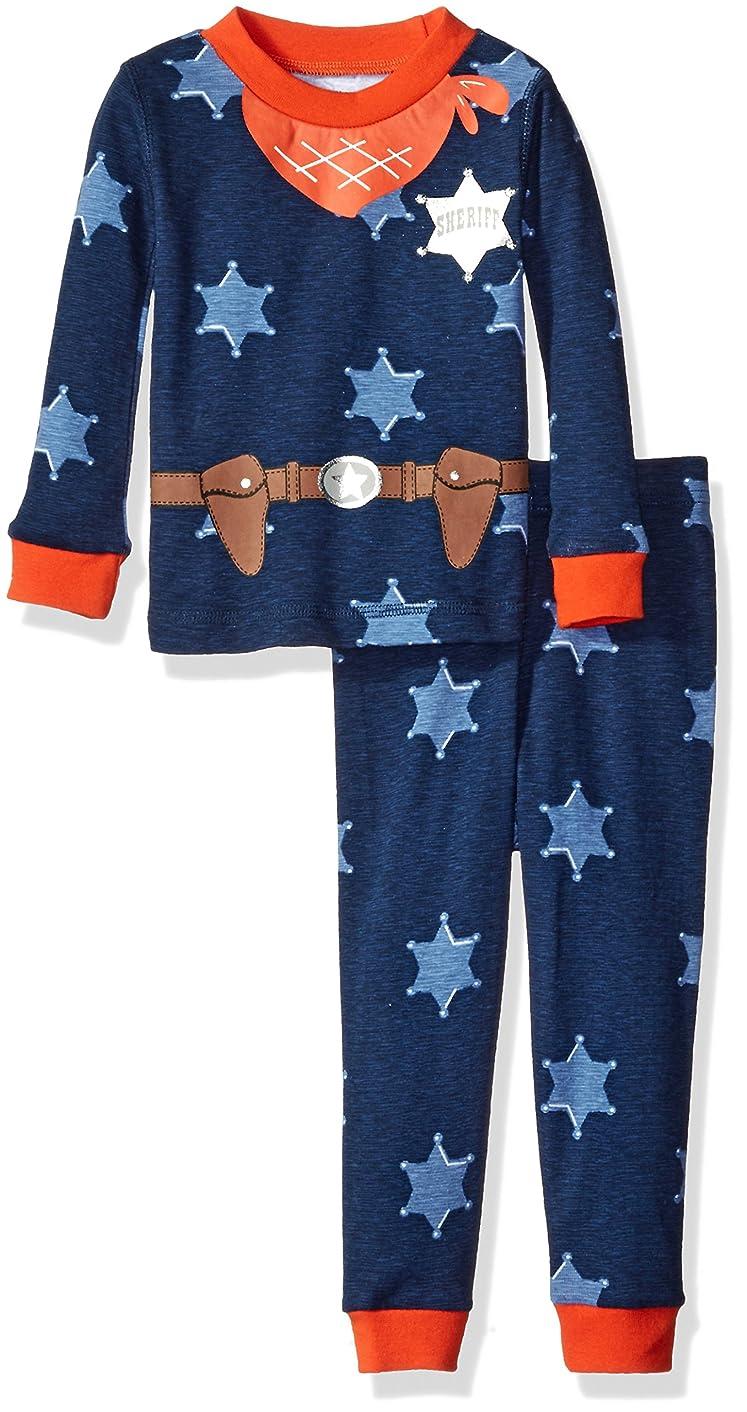 Petit Lem Boys' Star 2 Piece Pajama Set