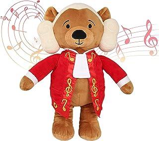 Vosego Amadeus Mozart Virtuoso Bear | 40 mins Classical Music for Babies | 15″ Award Winning Musical Soft Toy | Educationa...