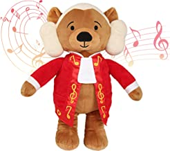 Vosego Amadeus Mozart Virtuoso Bear | 40 mins Classical Music for Babies | 15″ Award Winning Musical Soft Toy | Educationa...