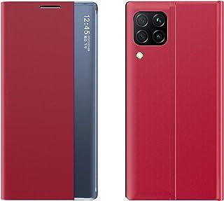 جراب نافذة جانبية لهاتف Huawei P40 Lite E جراب هاتف قلاب مضاد للسقوط Huawei P40 Lite E QC2001