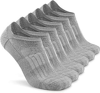 Busy Socks No Show Merino Wool Athletic Running Socks for Men Women,Low Cut Thin Soft Sport Wool Socks with Non-Slip Grips
