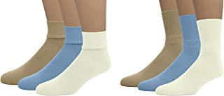 Unisex Kids Soft Bamboo Cotton Crew or Triple Roll Casual Socks 3-Pack