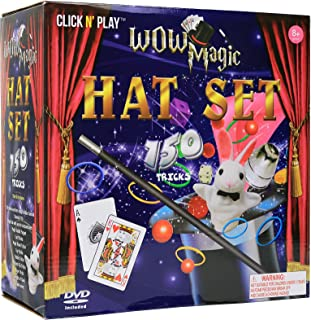 Click N' Play Magic Tricks Set for Kids Over 150 Tricks Includes Manual & DVD Tutorial