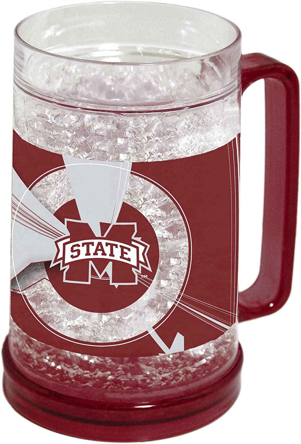NCAA OFFicial store Philadelphia Mall Mississippi State Bulldogs Freezer Crystal 16-Ounce Mug