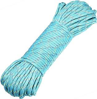 DonDon Corde Paracorde 30 Mètres Ruban de Tissu Lacet de Nylon Bracelet de Survie à Fabriquer et pour Activités de Camping...