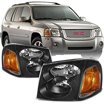 Amazon Com For Gmc Envoy Envoy Xl Envoy Xuv Black Housing