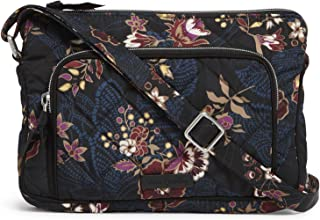Vera Bradley Women's Performance Twill Little Hipster Crossbody Purse with RFID Protection