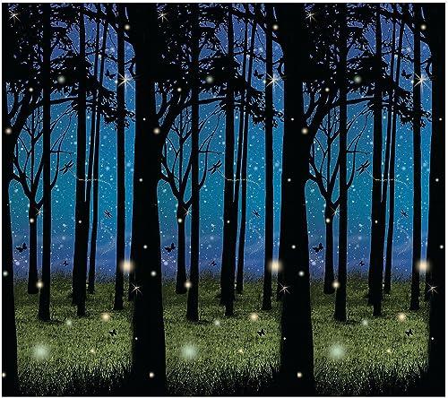 Enchanted Forest Scene Setter - Party Decorations & Backdrops & Scene Setters