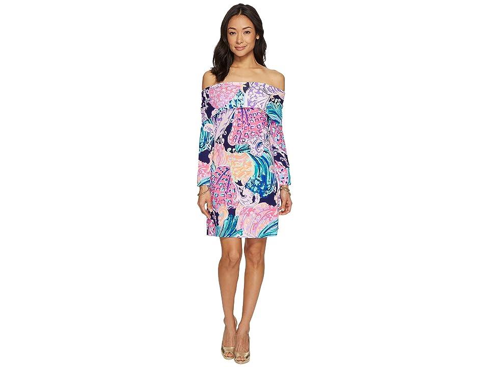 Lilly Pulitzer Trisha Dress (Multi All That She Wants) Women