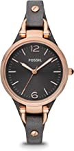 Fossil Georgia Analog Grey Dial Women's Watch - ES3077