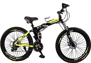 VLRA-Land Rover X9 Mountain Bike Foldable-26Inch (black/green, 26)