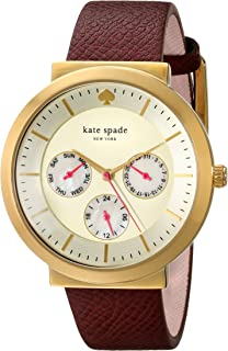 kate spade new york Women's 1YRU0644 Metro Grand Analog Display Japanese Quartz Pink Watch