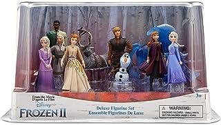 Disney Frozen 2 deluxe figurin lekset actionfigurer 10 delar figurset
