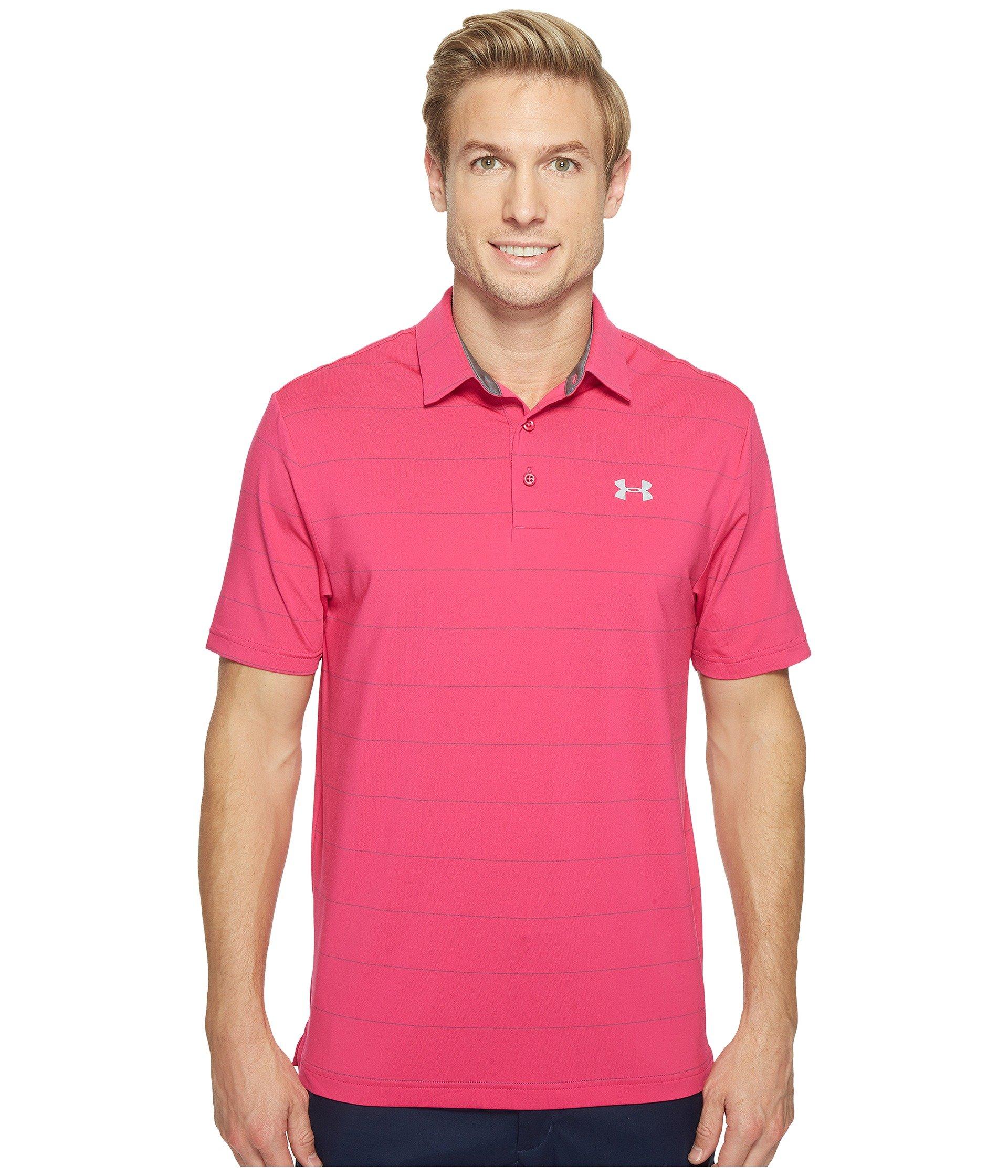 Camiseta Tipo Polo para Hombre Under Armour Golf UA Playoff Polo - Power In Pink  + Under Armour en VeoyCompro.net