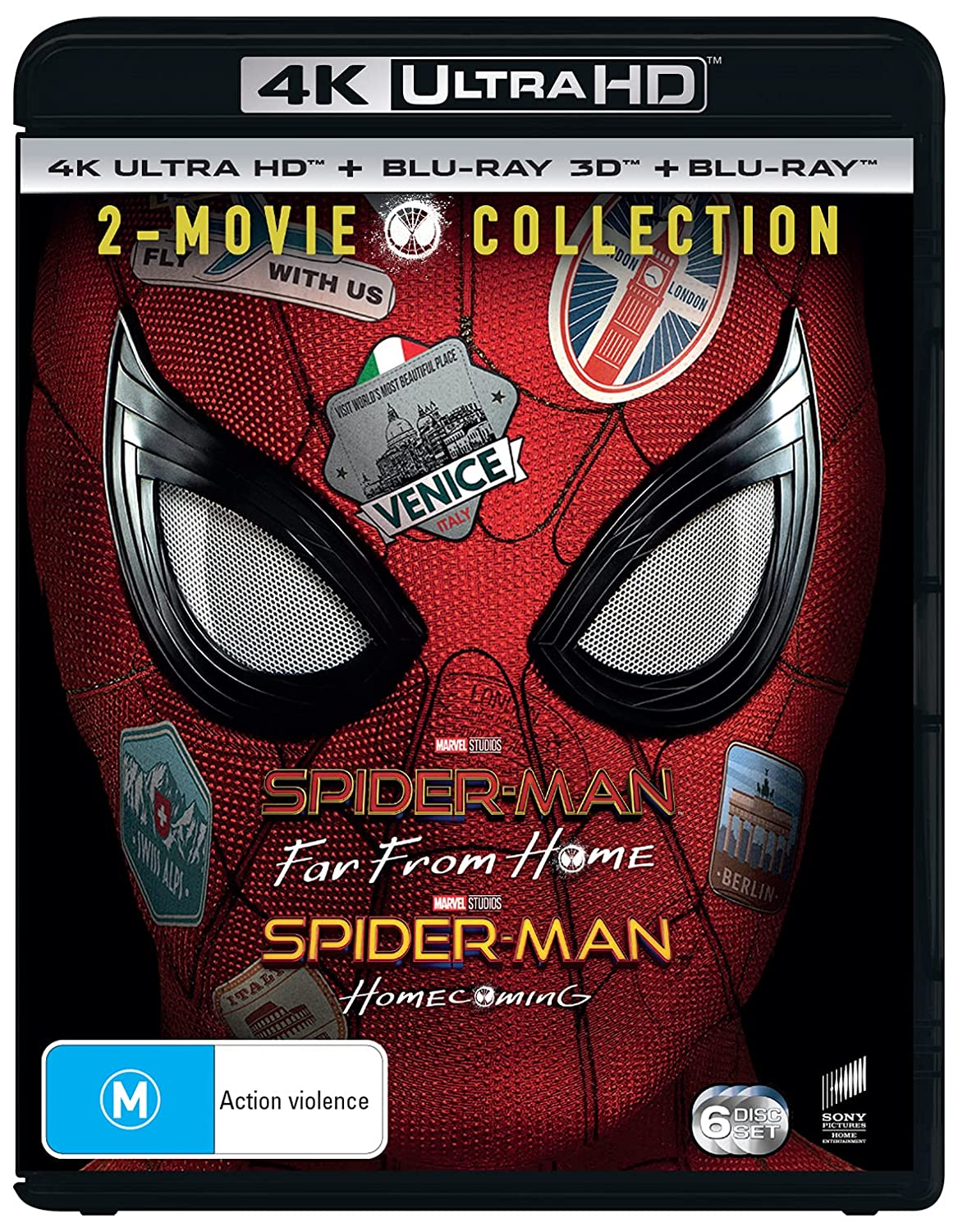 Spider-man: Far From Home / Spider-man: Homecoming [4K + Blu-ray 3D + Blu-ray]
