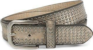 remaches y estr/ás reducible styleBREAKER cintur/ón vintage con relieve ornamental se/ñora 03010056