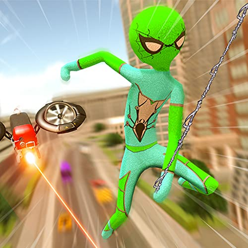 Stickman Hero- Crime Revenge Game 2020