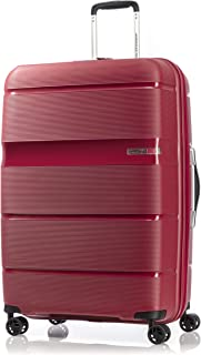 American Tourister Linex Hardside Spinner Luggage 77cm with tsa lock - Red