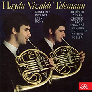 Haydn, Vivaldi, Telemann: Concertos for 2 French Horns and Orchestra