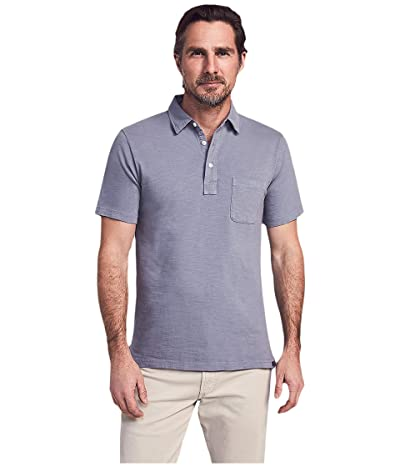 Faherty Sunwashed Polo (Storm Blue) Men