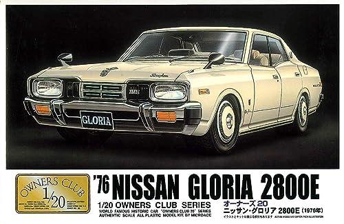 `76 Gloria Hardtop (Model Car) Micro Ace(Arii) 1 20 Owners Club No.7