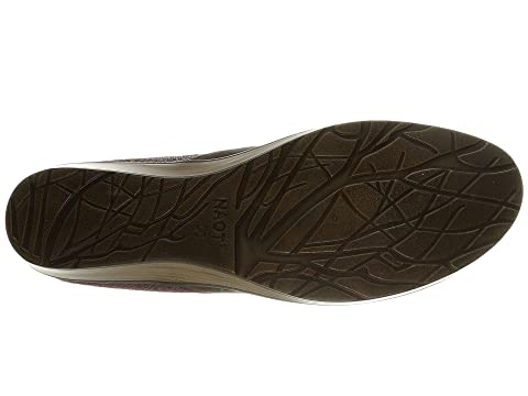 Naot Cherish Bronze Shimmer Suede/Volcanic Brown Leather