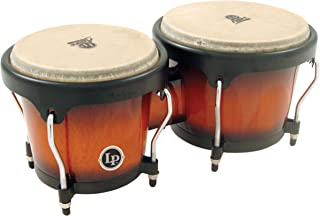 Latin Percussion Aspire Wood Bongos, Sunburst