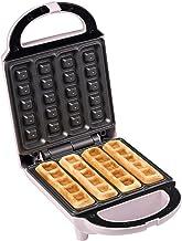 Bestron ASW400 wafelmaker voor wafelsticks, wafelizer in Sweet Dreams design, antiaanbaklaag, 460W, roze
