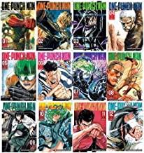 One-Punch Man Volume 1-12 Collection 12 Books Set (Volume 1-12)