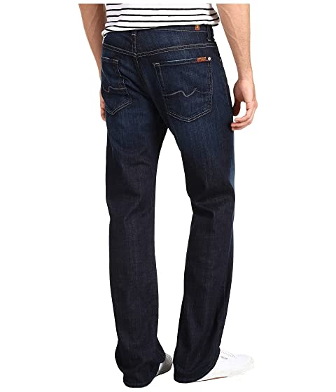 7 For All Mankind Austyn Relaxed Straight Leg in Los Angeles Dark