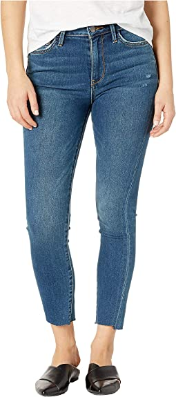 Stiletto High-Rise Crop Skinny Jeans in Lanelle