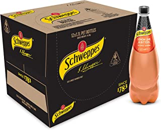 Schweppes Lemon Lime and Bitters, 12 x 1.1L