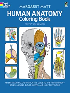 Human Anatomy Coloring Book: an Entertaining and Instructive Guide to the Human Body..
